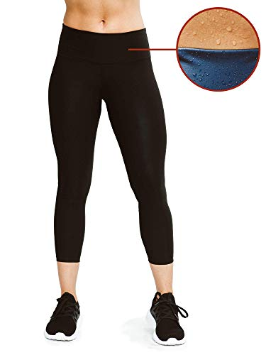 Sweat Shaper Women's Leggings, Compression Slimming Leggings, Weight Loss High Waist Sauna Pants, Yoga Leggings, Thermo Sweat Sauna Capris