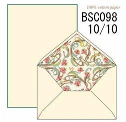 ロッシ1931 レターセット 16 x 21.5cm BSC098