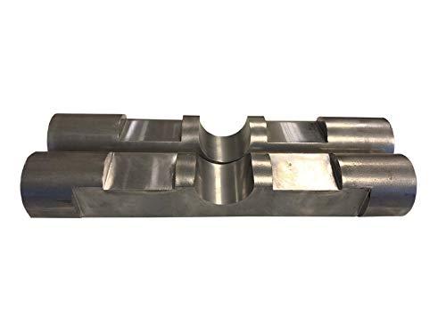 2x Symlock Bolzen als Bausatz/Aufnahme-Schnellwechsel Adapter MS03 Minibagger Bagger/Made in Germany