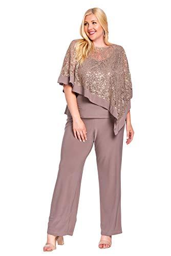 R&M Richards Plus Size Pant Suit