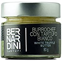 Mantequilla con trufa blanca (Tuber magnatum Pico) 80gr - Bernardini Tartufi
