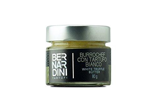 Burro con tartufo bianco (Tuber magnatum Pico) 80gr - Bernardini Tartufi