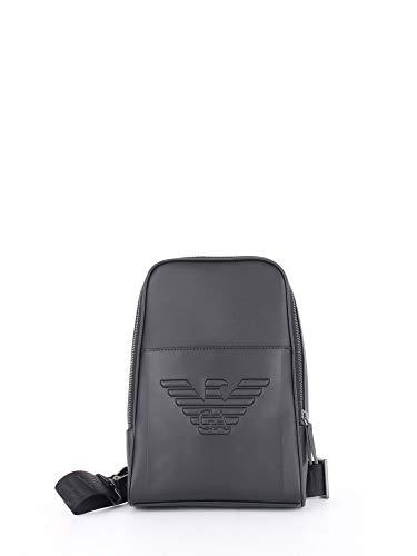 Emporio Armani mochilas hombre nero