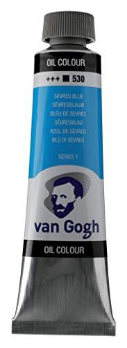 Van Gogh Aceite DE Pintura SERV, Sirve Azul, talla única