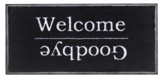 Orientbazar24 alemán Felpudo Welcome & Goodbye 40x