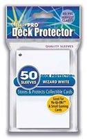 Ultra Pro Deck Protector Wizard White (small) (81592) - Sammelkartenzubehör Jap. Größe