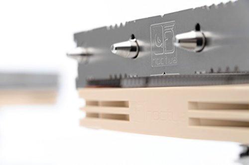 Noctua NH-L12S, Dissipatore di Calore a Basso Profilo di Qualità Premium per CPU (Marrone)