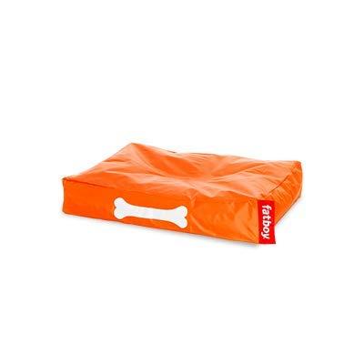 Fatboy® Doggielounge Small orange   Kleines Nylon-Hundekissen   Abwaschbares Hundebett für kleine Hunde   60 x 80 x 15 cm