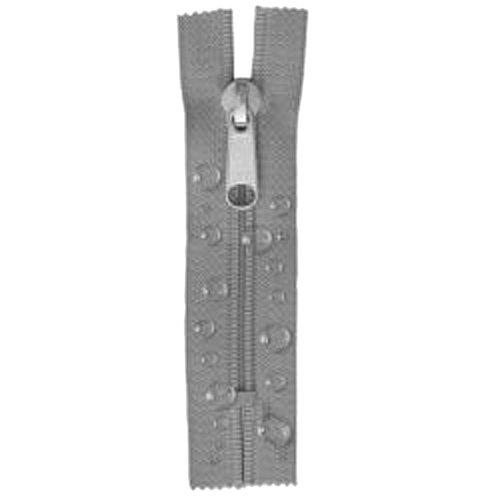 Zeltreißverschluss 210 cm grau
