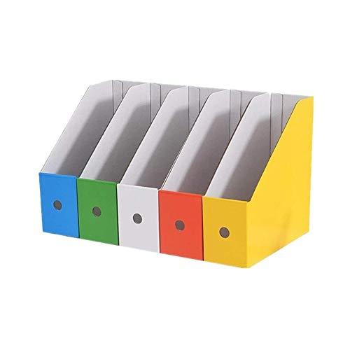 UNU_YAN Moderna Minimalista Revistero del Archivo Archivo Rack Organizador de Escritorio del Archivo de Almacenamiento de Archivos de revistas Revista de cartón Estante