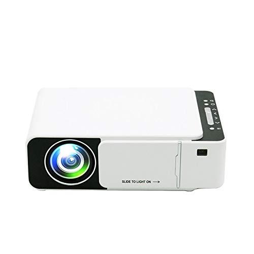 MmanuuFfacturer Sjibol T5 100ANSI lúmenes Resolución 800x400 480P LCD LED Smart Technology Proyector Soporte HDMI/SD / 2 x USB/Audio de 3,5 mm, Ordinario Versión