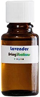 Living Libations - Organic/Wildcrafted Lavender Essential Oil (.169 oz/5 ml)