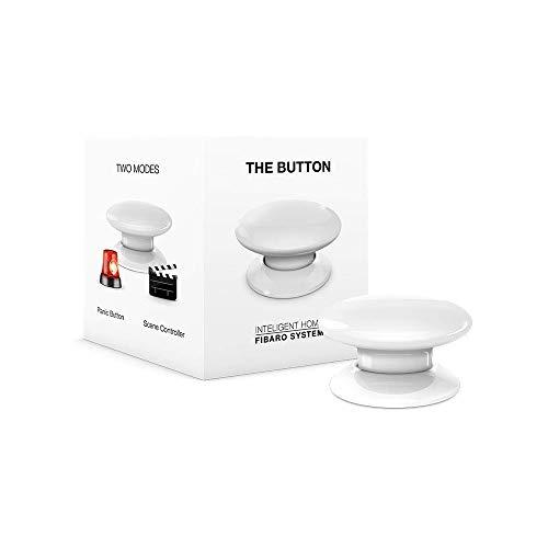Fibaro The Button Télécommande sans Fil Blanc