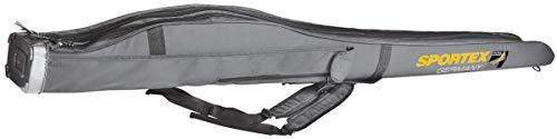 Sportex Rutentasche SuperSafe 150 cm/2 Fächer grau