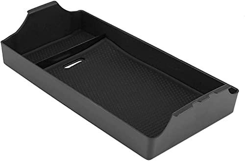 NADAENDR Caja de almacenamiento para reposabrazos de coche para Mercedes Benz Clase E W213 2016-2018, caja de almacenamiento de consola central, bandeja organizadora multifuncional.