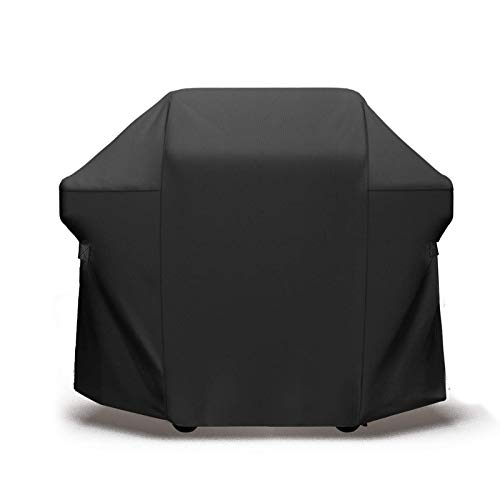 BBQ Grill Cover,Heavy Duty Waterproof Barbecue Gas Grill Cover,Rip-Proof , UV & Water-Resistant,Durable and Convenient,Fits Weber Char-Broil Nexgrill Brinkmann Grills and More(600D) suitable for all s