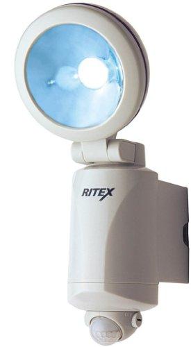 ムサシ LED-125 乾電池式 2W LEDセンサーライト 1392al