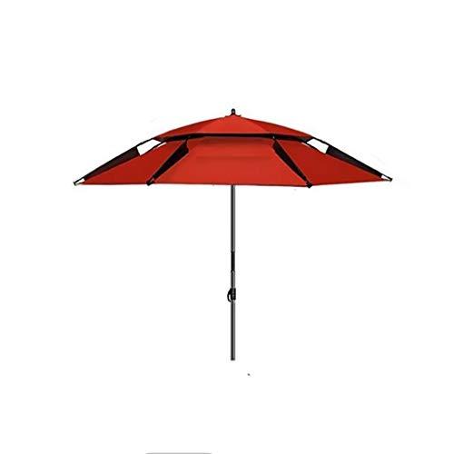 Unbekannt Tragbare/Wild/Out/Bequem/Mode/Outdoor/Angeln Regenschirm/Regen/Falten/Sonnenschirm/Regenschirm/Teleskop/Bequem/Reisen (Color : B, Size : 2.25M)