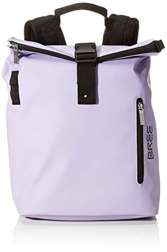 BREE Unisex-Erwachsene PNCH 713 Backpack M Rucksack, Violett (Lavender), 15x42x34 cm