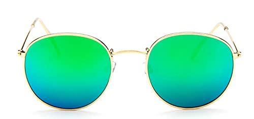 Gafas De Solnuevas Gafas De Sol Ovaladas Vintage De Diseñador De Marca para Mujer, Gafas con Lentes Transparentes Retro, Gafas De Sol Redondas para Mu