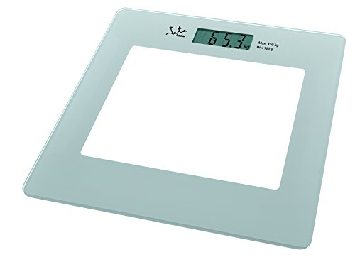 Jata 290 Electronic Personal Scale Square Silver – Personal Scales (LCD, Silver, CR2032, lithium)