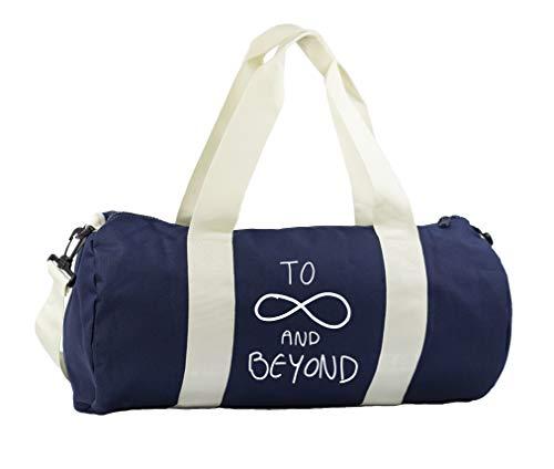 Hippowarehouse to infinity and beyond Gymwear Gym Duffle Cylinder Uniform...