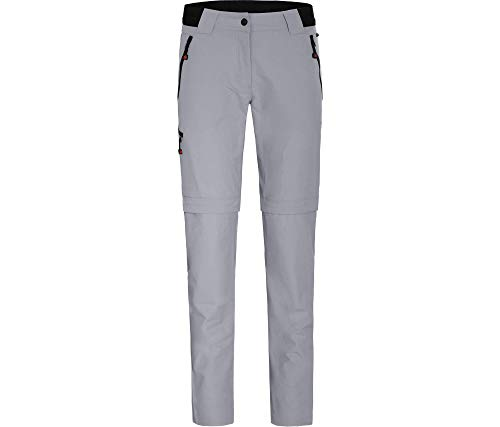 Bergson Damen Zipp-Off Hose VIDAA (Slim fit), Sleet [905], 38 - Damen