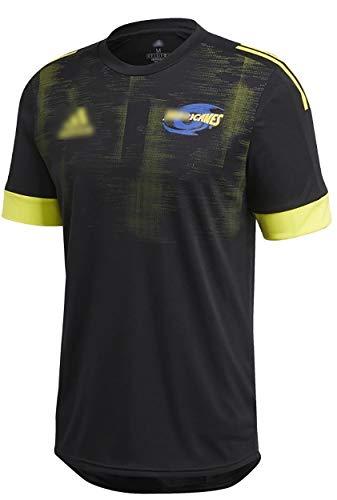 2020 Hurricanes Rugby-Trikot Hurricanes Trainingshemden Herren Damen Jugend Sommer Fitness T-Shirt Kurzarm Activewear für Geburtstag Gfit-XXL