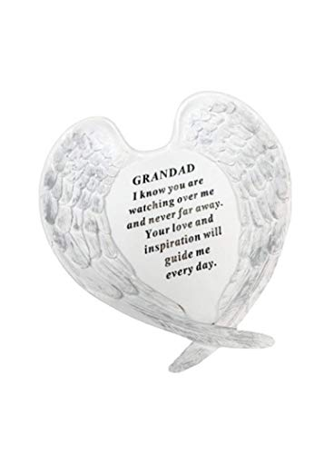Redwood Grandad Angel Wings Grave Ornament Memorial Graveside Decoration Special Remembrance Fathers Day