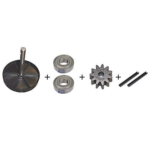 ATIKA Ersatzteil | Antriebswelle mit Kegelrad für Betonmischer A/B/BM/Comet/EM/Format/HM/M/Mix/Power/Profi/Rapid/SX
