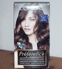 Loreal Paris Preference Recital Nr. 6.21 Opera - sehr helles Perlmuttbraun Haarfarbe mit Premium-Intensiv-Glanzfarbe für lananhaltende Farbe & Glanz. Dauerhafte Coloration.