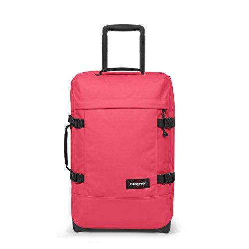Eastpak Tranverz S Equipaje de Mano, 51 cm, 42 Liters, Rosa (Wild Pink)