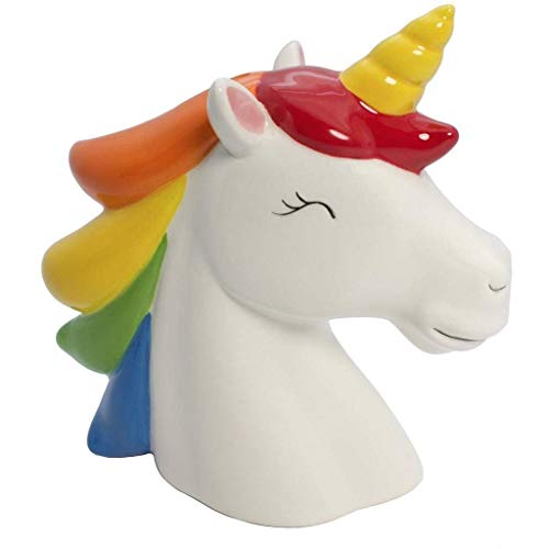 Streamline Rainbow Unicorn Money Bank