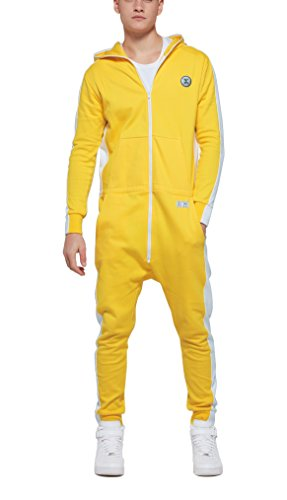 OnePiece Damen Jumpsuit Racer, Gelb (Yellow) - 6