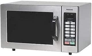 Panasonic NE-1054 Programmable Countertop Microwave Oven, 1000 Watts, 0.8 Cu. Ft, Stainless Steel; 120V, 60 Hz