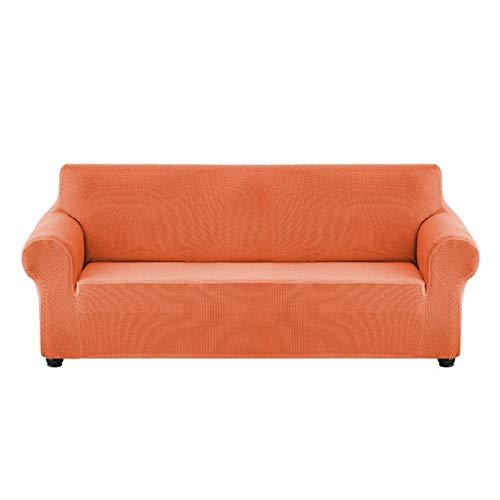 LXWLXDF-Funda de sofá Alta Elasticidad Impermeable Sofá Cover, Hecha Punto Telar Funda Estiramiento Sofá Cover For La Sala Muebles Tejido Spandex Protector (Color : H, Size : 4 Seats(71-94in))