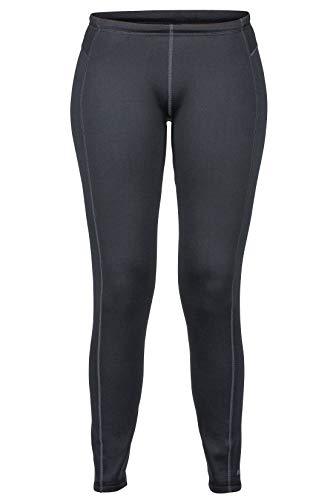 Marmot Wm's Stretch Fleece Pant Pantalon en Molleton, Legging Extensible d'extérieur, Respirant, Résistant au Vent Femme Black FR: M (Taille Fabricant: M)