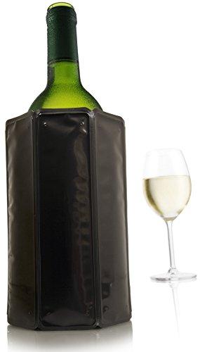Vacu Vin Active Weinkühler-Gelpack, 6 7/8, Schwarz