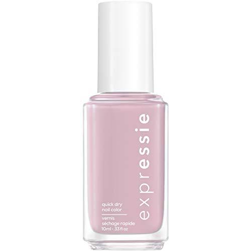 essie expressie Quick-Dry Vegan Nail Polish, Soft Lilac Purple 210 Throw It On, 0.33 Ounces