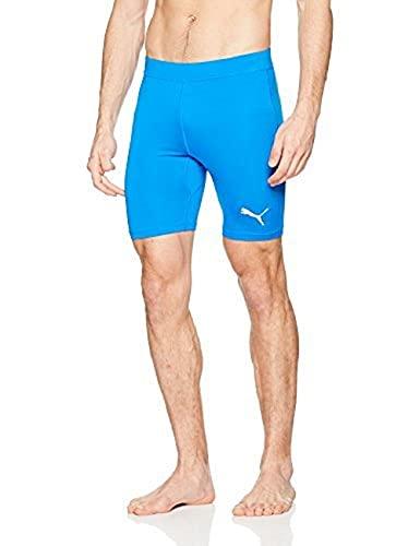 PUMA Liga Baselayer sous-vêtement Fonctionnel Homme Electrique Bleu Lemonade FR : L (Taille Fabricant : L)