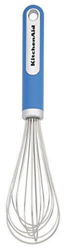 KitchenAid Stainless Steel Utility Whisk, 12-Inch, Ocean Blue