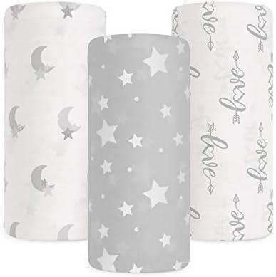 Babebay Baby Muslin Swaddle Blanket 3 Pack Unisex Bamboo Swaddle Blanket Boys Girl Soft Silky product image