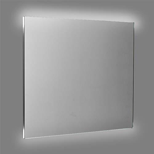 ENKI Specchio A LED Retroilluminato Bagno Orizzontale / Verticale 600 X 800 Mm BELLE