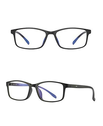 Cyni Spielbrille,TR90 Anti-Blau-Brille, Unisex-Computerspiegel Wettkampfspiel Schutzbrille,Sandblack,1