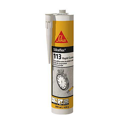 Sikaflex-113 Rapid Cure, Adesivo a rapido indurimento, Bianco