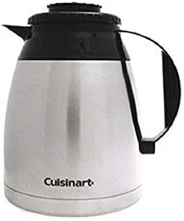Cuisinart DTC-975TC12BSS STAINLESS STEEL THERMAL CARAFE BLACK