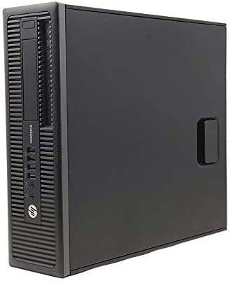 HP EliteDesk 800 G1 - Ordenador de sobremesa (Intel Core i5-4ª Gen, 8GB de RAM, Disco 128GB SSD, Windows 10 Pro Upgrade ES 64) (Reacondicionado)