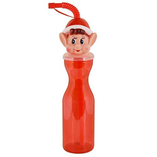 ASAB Elves Behavin' Badly 450ml Elf Drinking Bottle Kids Stocking Filler