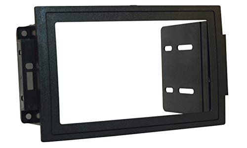 Scosche CR1289B Compatible with 2005-08 Chrysler / Dodge / Jeep ISO Double DIN & DIN+Pocket Dash Kit, models w/Nav