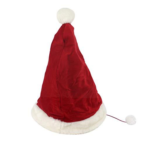 Balacoo weihnachtsmütze haustierbett Winter warm Hund Nest Katze Schlafsack weihnachtsdekoration für Haustier Hund Katze kätzchen